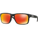 Oakley Holbrook Okulary rowerowe pomarańczowy/czarny